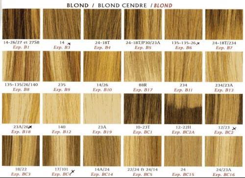 recherche de toutes les nuances de blonds coiffure et. Black Bedroom Furniture Sets. Home Design Ideas