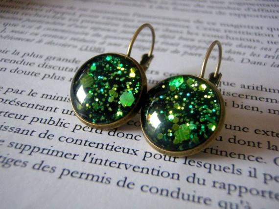 Boucles d'oreilles Enchanted forrest