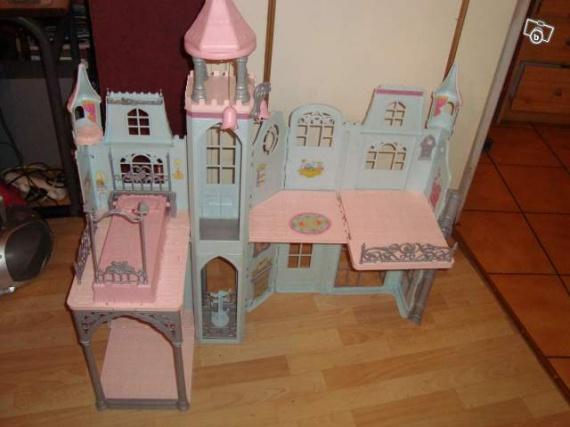 chateau barbie 25 euros