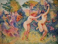 Henri Edmond Cross - La Fruite des Nymphes