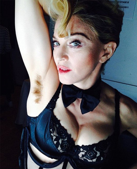 Madonna sur son Instagram
