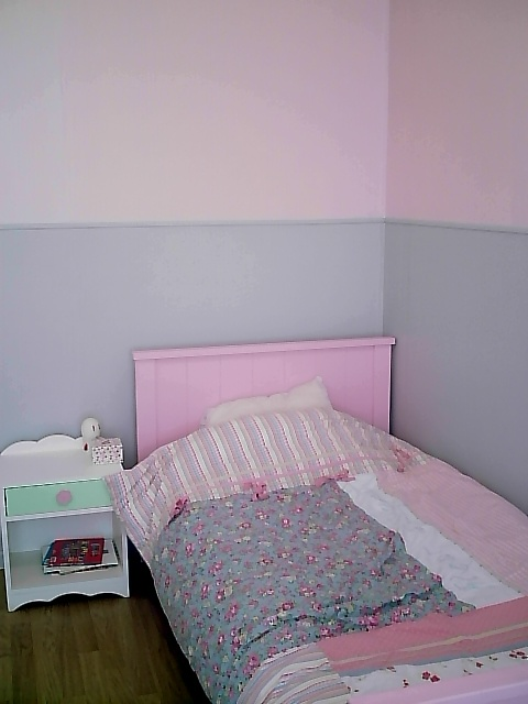 chambre bebe fille rose et gris. Black Bedroom Furniture Sets. Home Design Ideas