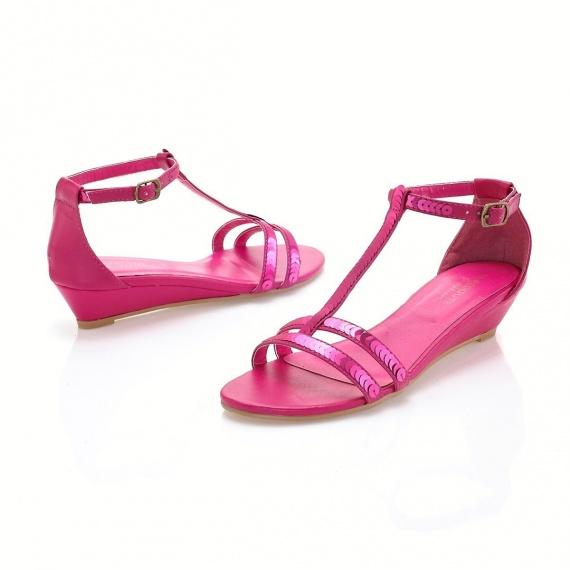 chaussures fushia fin de soire - Chaussure Fushia Mariage