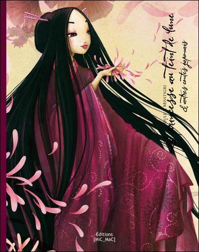 Album La princesse au teint de Lune & autres contes japonais