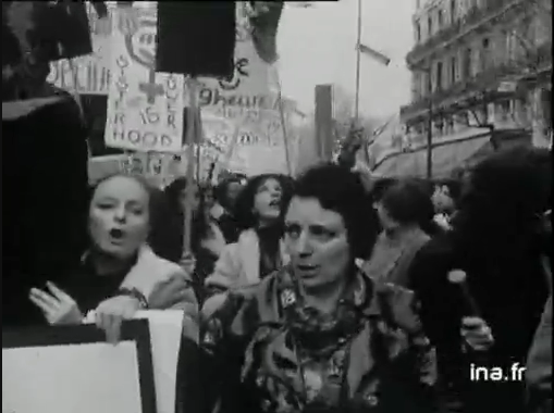 Manifestation du Mlf en 1972
