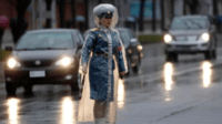 Officier de ville nord coréenne