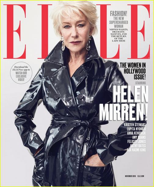 Helen Mirren (in ELLE 2016)