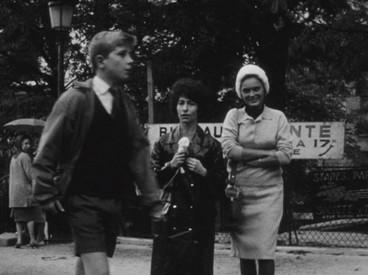Marceline Loridan Ivens dans Chronique d'un été de Jean Rouch et Edgar Morin