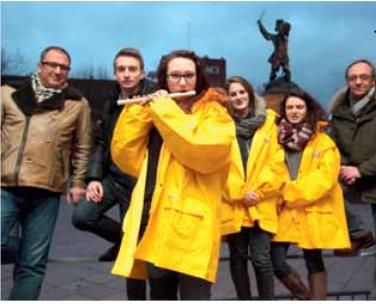 La bande de la Basse Ville Dunkerque 14 février 2015