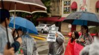 Manifestation d'enseignants USA 2019