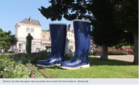 """""""Bottes"""" de  Lilian Bourgeat à Pont-Audemer dans l'Eure"""