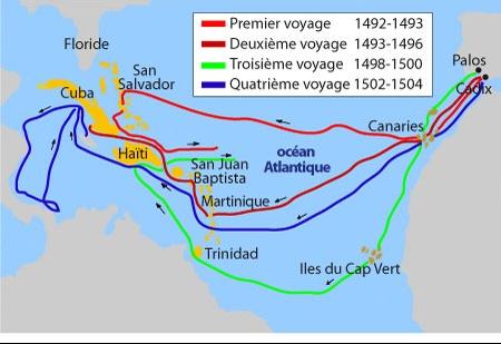 Les voyages de Christophe Colomb - elyma05 - Doctissimo
