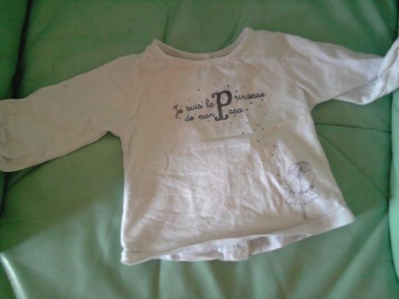Tee shirt TAO 3 mois 1.5€
