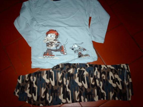 pyjama 4ans 1€ vet bb et petitga