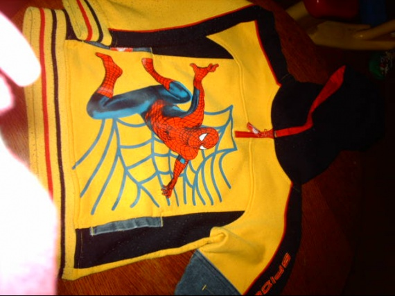 5ans ensemble spiderman : le pull ...karinenzolea
