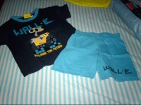 pyjashort WALL E 4 ans vetbb et petitga