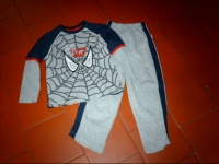 pyjama spider man  104/110 cm (4/5 ans) ellanoyatite