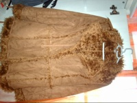 beau manteau croute de cuir retourné  40 2pirates1princesse