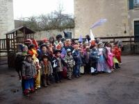 Carnaval à l' école le 13/03/2011