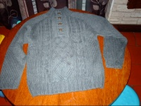 pull gris 10 ans chouettetiti