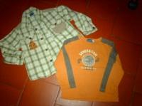 ensemble chemise et polo 4ans mafaldamousse