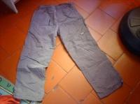 pantalon gris 12ans 2pirates1princesse