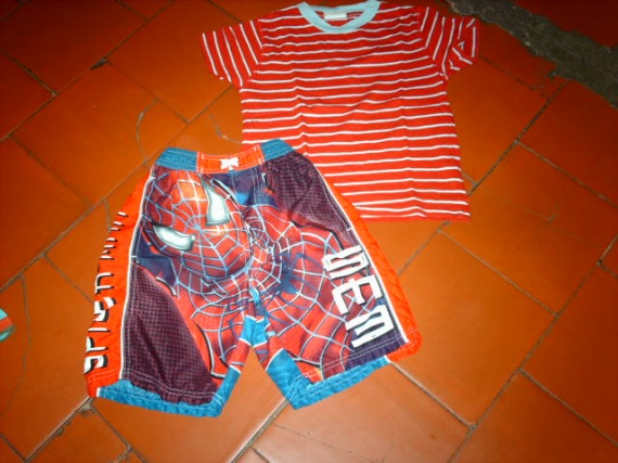 short spiderman 4ans alison4518