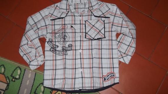 chemise tony  boy BLEU 5ans 2€ vet bb et petitga