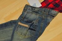 détail du jean