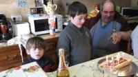 l' anniversaire de gaël le 12 février