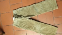 44- pantalon velours 4 ans 2€