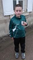 gael avec son jogging de la JST