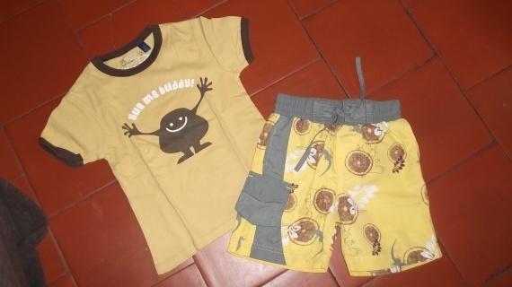 short petit 5ans 1€/ tshirt okaidi 6-ans-1-€ vet bb et petitga