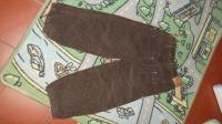 2- pantalon boule en velours marron 4ans 2€
