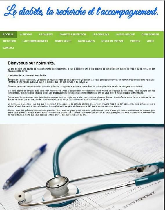 Page couverture du site