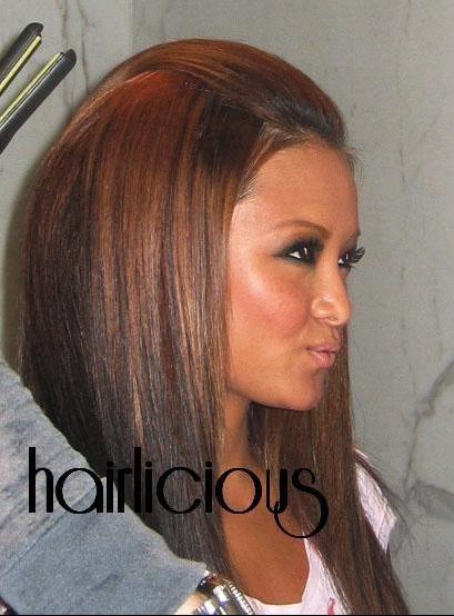 Couleur de cheveux brun avec reflet