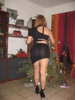 robe noire.