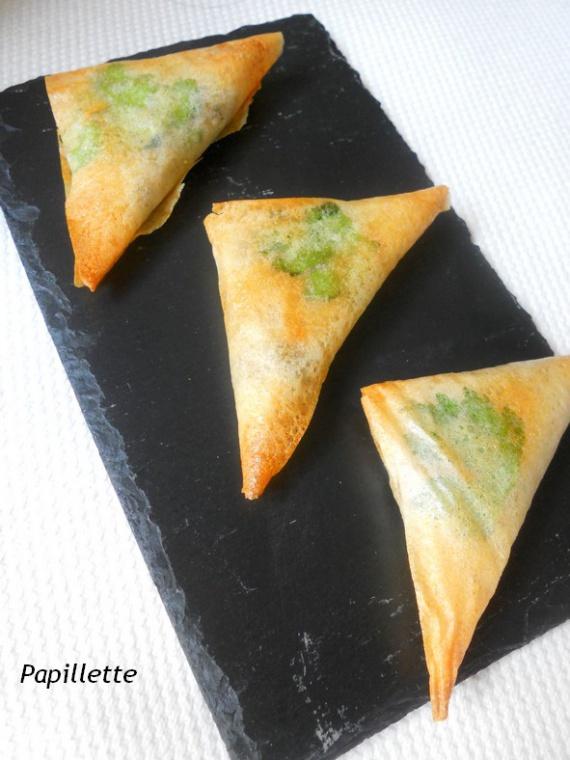 brick poulet feta olive verte
