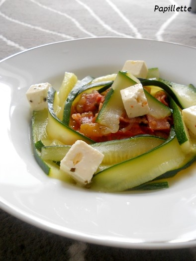 tomate courgette