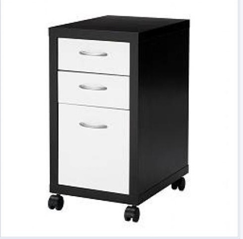 bureau et caisson mikael ikea brun noir annonces forum vie pratique. Black Bedroom Furniture Sets. Home Design Ideas