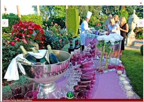 garden party jardins - Villa Ephrussi De Rothschild Mariage