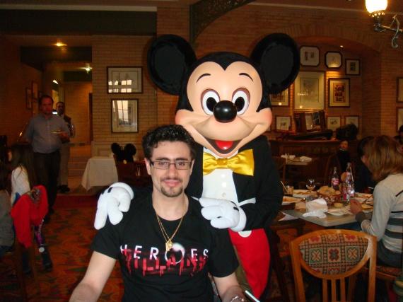 mickey et mon cyrillou