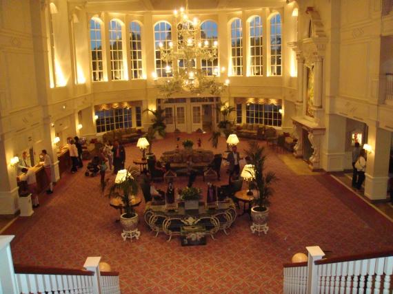 hotel disneyland - l'entrée