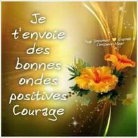 ondes positives et courage