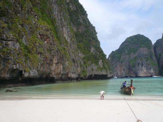 la plage du film avec l onardo di caprio 8 thailande sourire soleil souvenirs. Black Bedroom Furniture Sets. Home Design Ideas