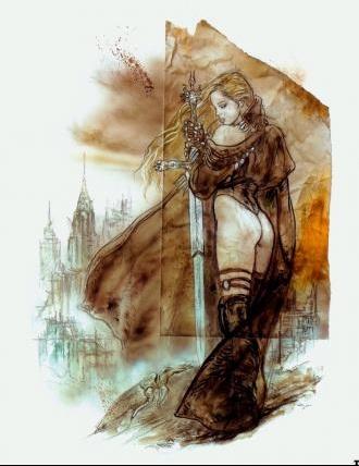 Luis Royo - Malefic (boceto 3)