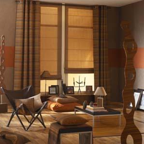 idée couleur peinture style africain salon - Décoration ...