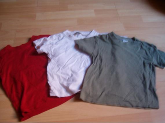lot de 3 tee-shirt 3 euros