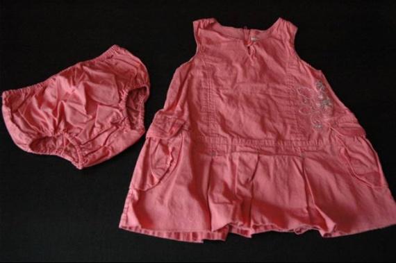 robe doublée+bloomer 3e