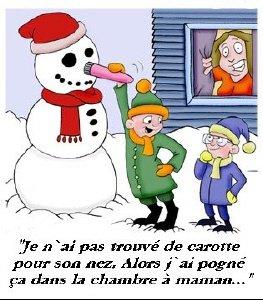 bonhomme de neige!!